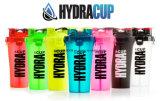 BPA Libre 700ml Promocional Dural Shaker Botella, barato doble Shaker Cup