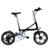 X 모양 디자인 경량 접히는 자전거 Yzbs-7-16