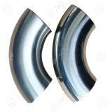 Acessórios de tubulação de cotovelo de solda soldada de aço inoxidável sanitário de 3 A 45 graus