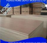 Muebles de grado rojo Meranti madera contrachapada con 1220X2440