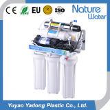 Sistema doméstico del RO del purificador del agua con la visualización y la luz UV