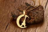 Ожерелье европейской нержавеющей стали ювелирных изделий способа привесное для женщин