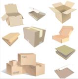 Cartón acanalado de empaquetado de la logística