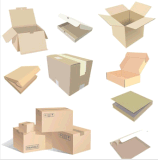 Logistik-verpackender gewölbter Karton