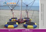 De openlucht Oefeningen van Bungee van de Trampoline van het Spel met het Koord van de Veiligheid