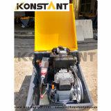 Dieselmotor-angeschaltener Mörtel, der Maschine vergipst