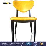 椅子を食事する熱い販売C1-1安いPVC物質的で快適でよい絵画PU Corveredの足