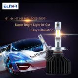 Bulbos acessórios do farol do diodo emissor de luz da luz H1 H4 do carro auto com projeto do ventilador