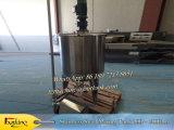 Tanque do aquecimento da cera com o tanque do aquecimento do revestimento do petróleo