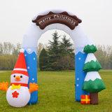 Arco gonfiabile del Babbo Natale della decorazione del partito di festa della famiglia
