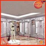 Le point d'achat créateur manifeste le dispositif de coffret d'étalage de sous-vêtements