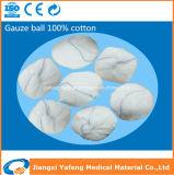 生殖不能の吸収性の歯科綿のガーゼの球の製品