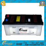 A bateria 12V190ah da potência seca a bateria de carro da carga para o caminhão