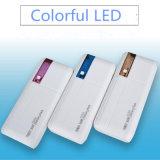 3USB 승진 선물을%s 가진 다채로운 LED 이동할 수 있는 힘 은행 6000mAh