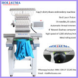 Holiauma 질 행복한 기계 Tajima와 같 1대의 헤드 15 색깔 고속 자수 기계