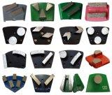 Malende Bakstenen die van de Vloer van de diamant de Concrete Plaat malen