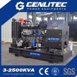 Gerador Diesel silencioso aberto chinês de Ricardo de 12kVA a 250kVA