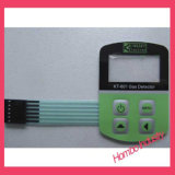 Controlar o interruptor de membrana do teclado da folha de prova da cópia do circuito do teclado