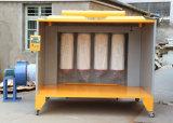 Prix usine manuel de cabine de peinture de poudre en lots