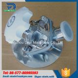 ステンレス鋼のシリコーンの膜を搭載する衛生まっすぐなダイヤフラム弁