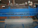 Rete fissa rivestita di collegamento Chain della rete metallica di obbligazione del PVC di alta qualità