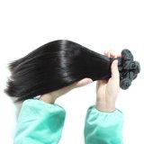 Линия выдвижение кольца петли цвета человеческих волос естественная черная волос венчика