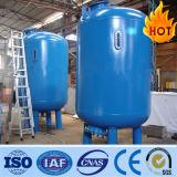 De geactiveerde Filter van het Zand van de Koolstof en van de Druk voor de Filtratie van het Water