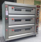 Подносов палуб 9 самого лучшего цены промышленная печь пиццы газа выпечки хлеба 3