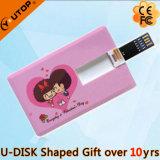 Mecanismo impulsor de la tarjeta de crédito del flash USB3.0 para los regalos de la promoción (YT-3101-3.0)