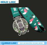 記念品のギフトの金属メダルはスポーツのマラソンの円形浮彫りの昇進のギフトを制作する