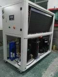 版の熱の交換体のため表面処置の38kw/59kw空気冷却水スリラー