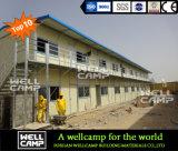 Edificio prefabricado del panel de emparedado de la marca de fábrica de la tapa 10 de Wellcamp