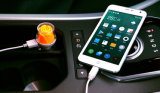 高性能のカスタム優雅なローズの形昇進のギフトのための美しいカラー倍USB車の充電器の/Carの充電器