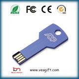 최신 인기 상품 금속 키 USB 섬광 드라이브 부속품 Pendrive