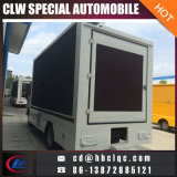 Fabricação profissional Mobile LED Stage Vehicle Scrolling Advertising Board Truck