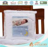 Almofada cabida do colchão do poço do sono do bebê ucha macia finamente