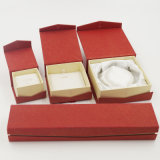 De Doos van de Verpakking van de Juwelen van Kerstmis van de Doos van de Ring van het fluweel (J01-E1)