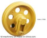Excavador de Takeuch Tb150 Tb175 o piezas delanteras picadoras del tren de aterrizaje de la maquinaria de construcción de la rueda loca