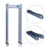 Detector de metales portable de la seguridad de la alta precisión de los aeropuertos/de los puertos