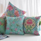 Крышки валика софы печати хлопка Linen для живущий мебели комнаты