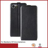 Bolsa de couro PU para telefone celular duplo para Blackberry Keyone