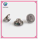 Jean boutonne des boutons en métal pour les boutons en bloc en métal de blazers