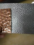 201 espesor inoxidable grabado lino de la hoja de acero 0.5-1.5m m