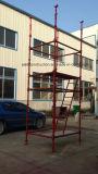 安全な装飾のためのセリウムによって修飾される足場アクセスタワー