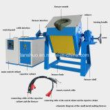 Horno fusorio de inclinación de frecuencia media de la inducción del hierro 3kg de IGBT