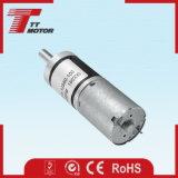 El cuidado del suelo trabaja a máquina el motor eléctrico del engranaje de la C.C. de la velocidad 12V