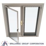 Puerta doble exterior moderna de aluminio de cristal doble estándar de Au/Nz/Us