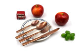 Вилка 18/0 установленной нержавеющей стали Cutlery корейские и комплект ложки