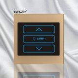 アクリルの輪郭フレーム(SK-LT100-D1)の1つの一団の調光器スイッチ