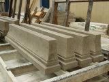 Natürliches Wand-Fliesejura-Grau-Polnisches zog Kalkstein ab